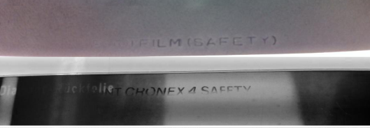 Safety film stamps